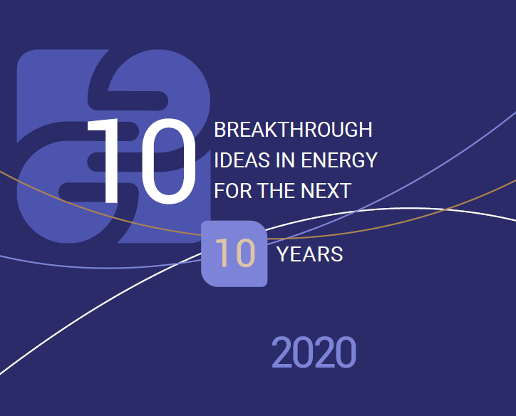 Ten key ideas in energy – an answer to the most important questions in society and the economy